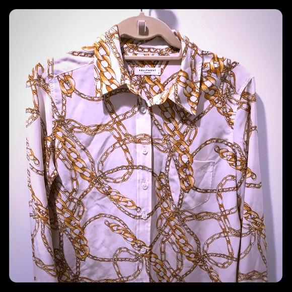 e5708ff6413c8b Equipment Tops - Equipment silk blouse